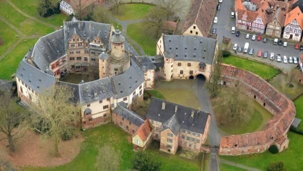замок бюденген недалеко от франкфурта