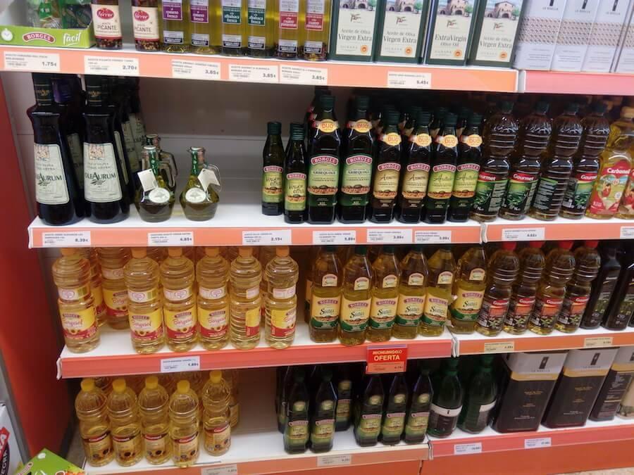 цены на оливковое масло в испании