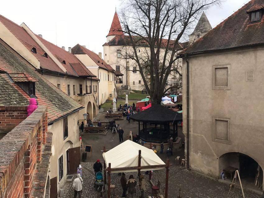 Замок Кршивоклат из Праги