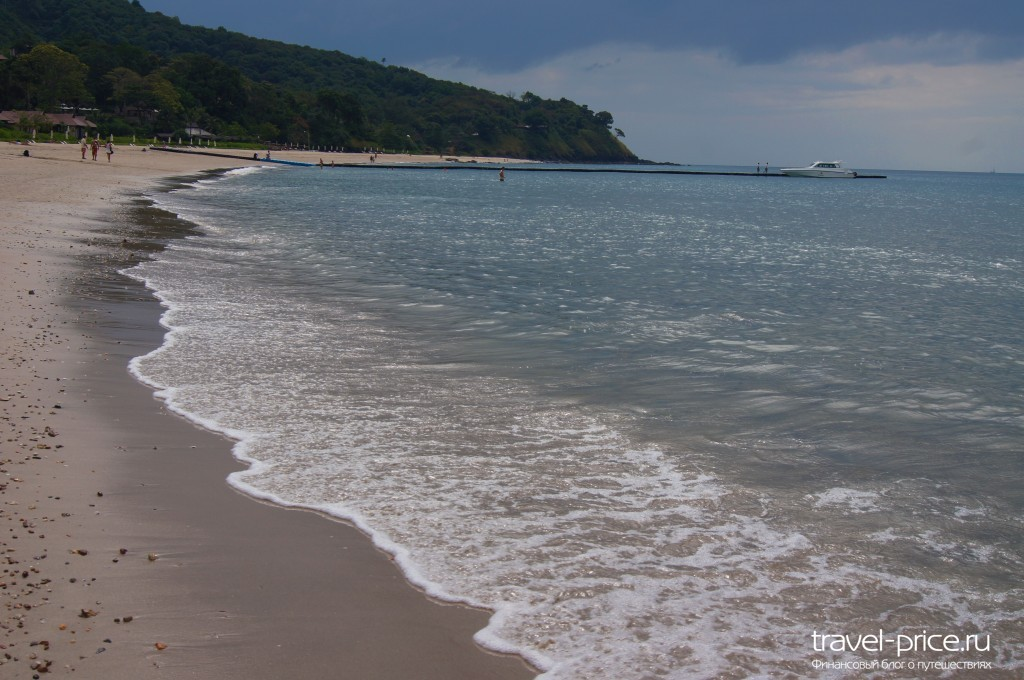 Пляж Ba Kantiang bay остров Ланта, Таиланд Пляж острова Ланта