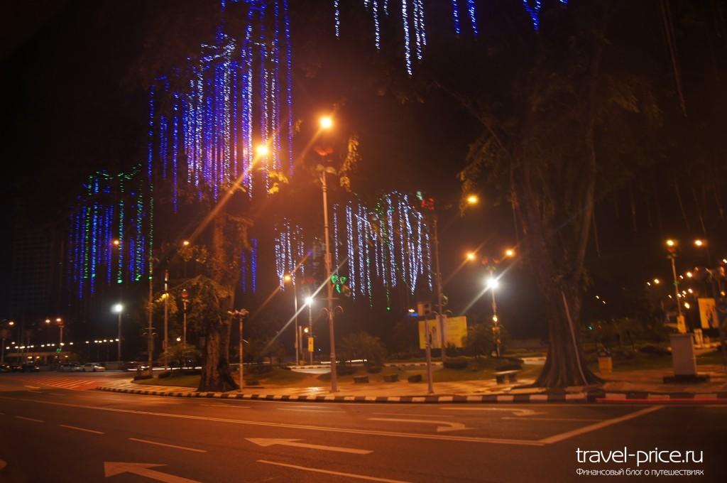 Улицы Куала-Лумпур (Малайзия)