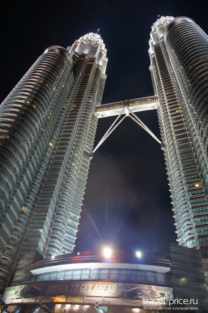 Башни Петронас Куала-Лумпур Малайзия