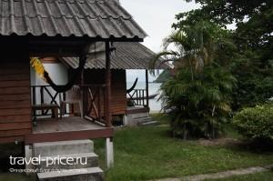 бунгало на острове  Панган, отель Royal Orchid Resort