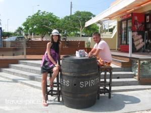 Алкогольный магазин Кипр