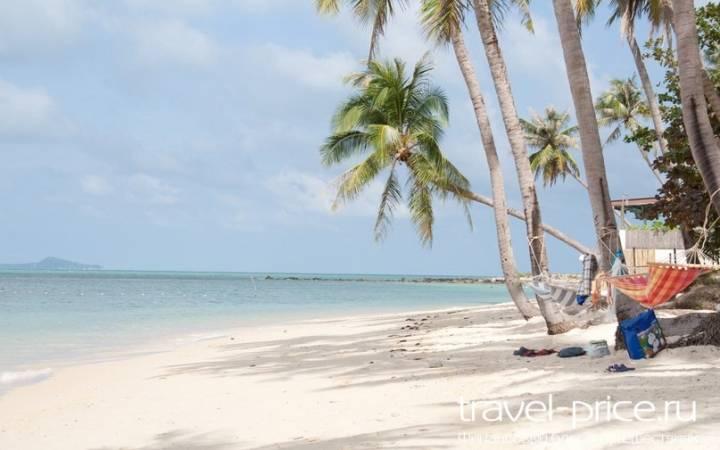 Красивый пляж Ban Tai (остров Самуи)