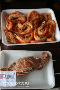 Морепродукты Тайланд